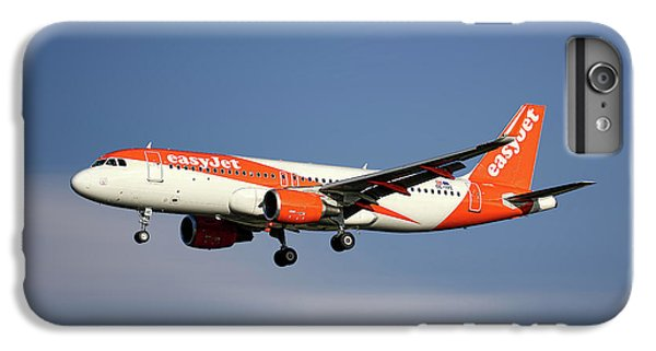 Jet iPhone 6 Plus Case - Easyjet Airbus A320-214 by Smart Aviation