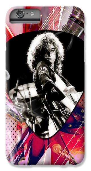 Jimmy Page Led Zeppelin Art IPhone 6 Plus Case by Marvin Blaine