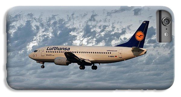 Jet iPhone 6 Plus Case - Lufthansa Boeing 737-300 by Smart Aviation