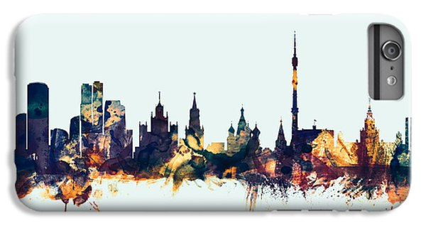 Moscow Russia Skyline IPhone 6 Plus Case