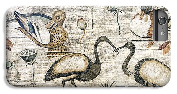 Nile Flora And Fauna, Roman Mosaic IPhone 6 Plus Case by Sheila Terry