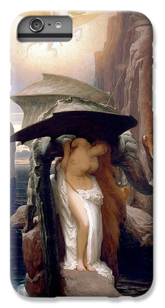 Perseus And Andromeda IPhone 6 Plus Case by Frederic Leighton