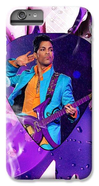 Prince Purple Rain Art IPhone 6 Plus Case