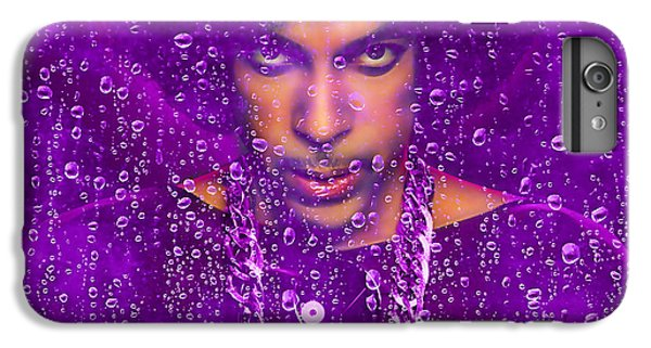 Prince Purple Rain Tribute IPhone 6 Plus Case by Marvin Blaine