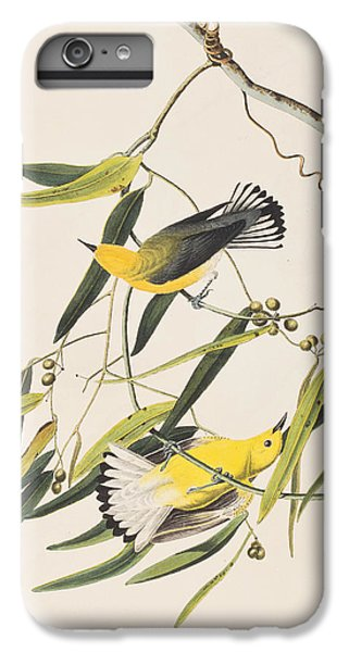 Prothonotary Warbler IPhone 6 Plus Case by John James Audubon