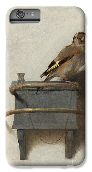 The Goldfinch IPhone 6 Plus Case by Carel Fabritius