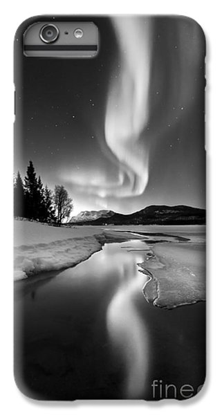 Beautiful iPhone 6 Plus Case - Aurora Borealis Over Sandvannet Lake by Arild Heitmann
