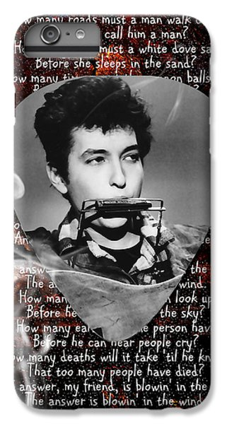 Bob Dylan Art IPhone 6 Plus Case