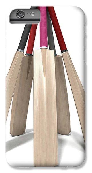 Cricket Bat Circle IPhone 6 Plus Case