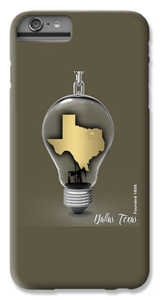 Dallas Texas Map Collection IPhone 6 Plus Case