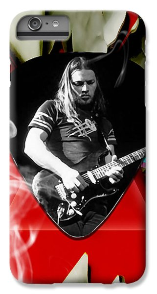 David Gilmour Pink Floyd Art IPhone 6 Plus Case by Marvin Blaine