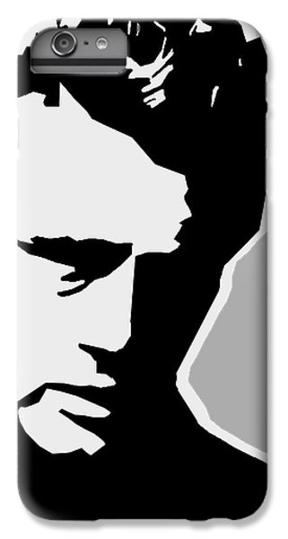 James Dean  IPhone 6 Plus Case by Mark Ashkenazi