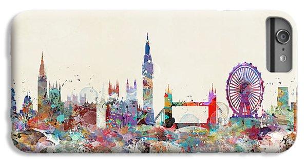 London Eye iPhone 6 Plus Case - London City Skyline by Bleu Bri