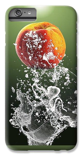 Peach Splash IPhone 6 Plus Case