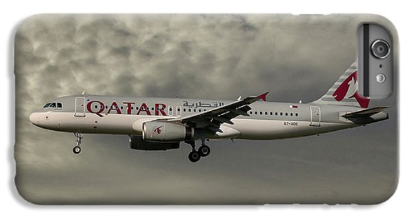 Jet iPhone 6 Plus Case - Qatar Airways Airbus A320-232 by Smart Aviation