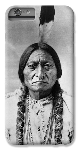 Sitting Bull (1834-1890) IPhone 6 Plus Case by Granger