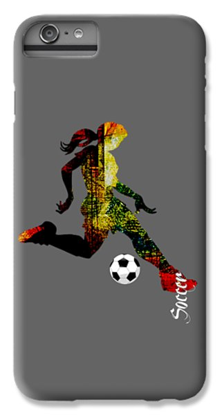 Soccer Collection IPhone 6 Plus Case by Marvin Blaine
