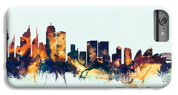 Sydney Australia Skyline IPhone 6 Plus Case by Michael Tompsett