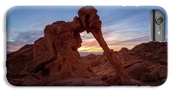 Valley Of Fire S.p. IPhone 6 Plus Case by Jon Manjeot