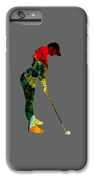 Womens Golf Collection IPhone 6 Plus Case by Marvin Blaine