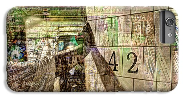 42nd Subway Collage IPhone 6 Plus Case by Dave Beckerman