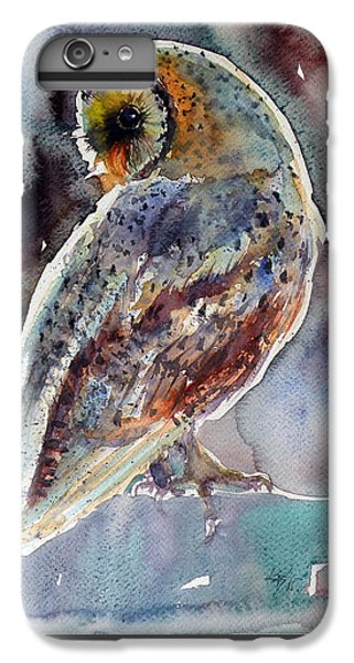 Owl iPhone 6 Plus Case - Barn Owl by Kovacs Anna Brigitta