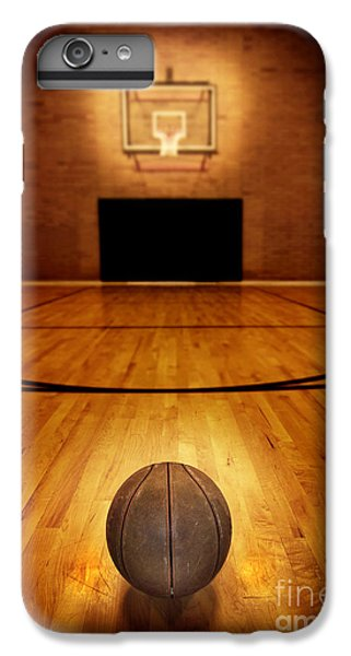 Basketball And Basketball Court IPhone 6 Plus Case