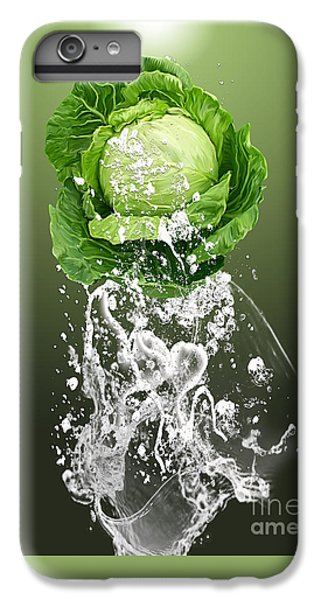 Cabbage Splash IPhone 6 Plus Case by Marvin Blaine