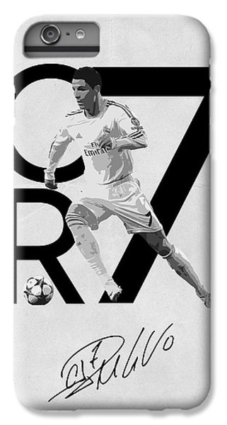 Cristiano Ronaldo IPhone 6 Plus Case by Semih Yurdabak