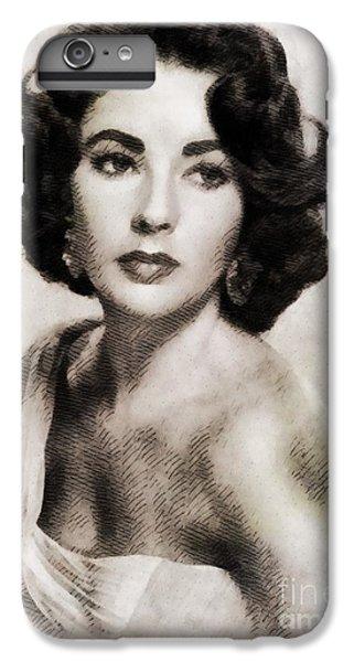 Elizabeth Taylor, Vintage Hollywood Legend IPhone 6 Plus Case