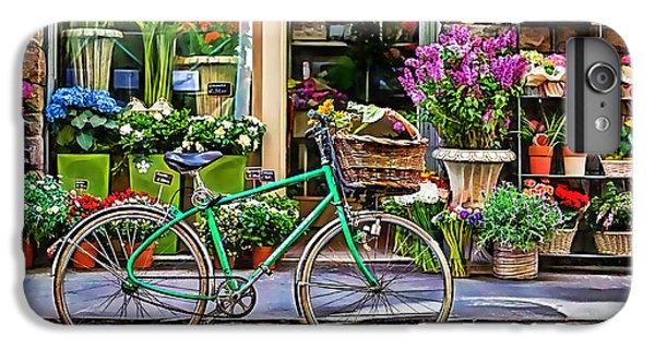 Flower Bike Collection IPhone 6 Plus Case by Marvin Blaine