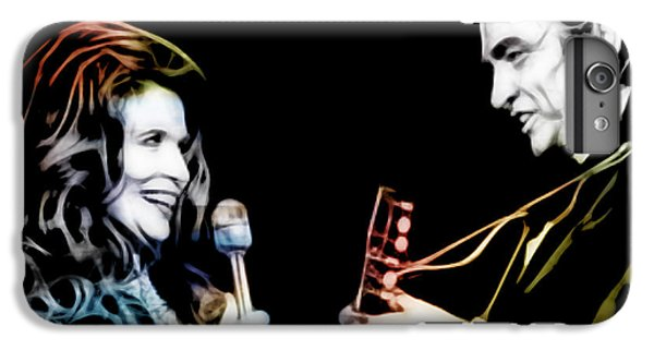 June Carter And Johnny Cash Collection IPhone 6 Plus Case by Marvin Blaine