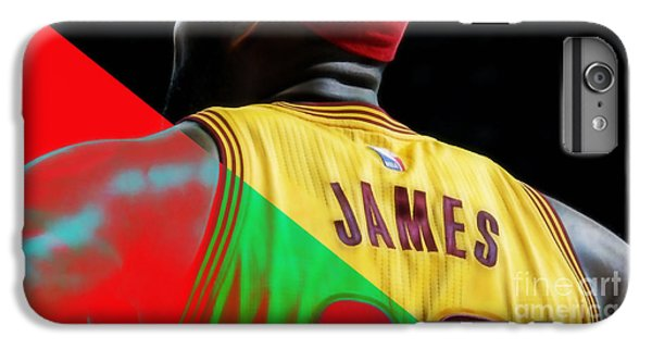 Lebron James Collection IPhone 6 Plus Case by Marvin Blaine