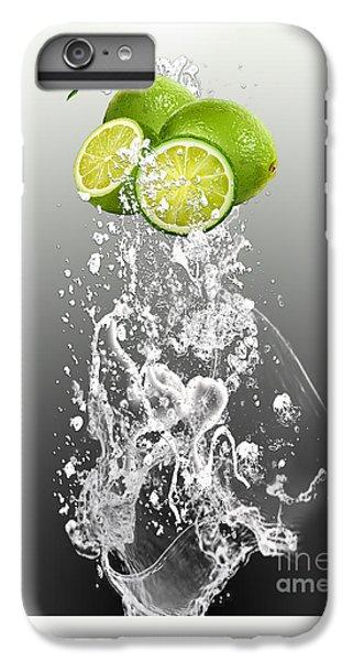 Lime Splash IPhone 6 Plus Case
