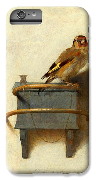Meadowlark iPhone 6 Plus Case - The Goldfinch by Carel Fabritius