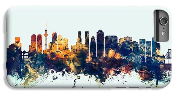 Tokyo Japan Skyline IPhone 6 Plus Case by Michael Tompsett