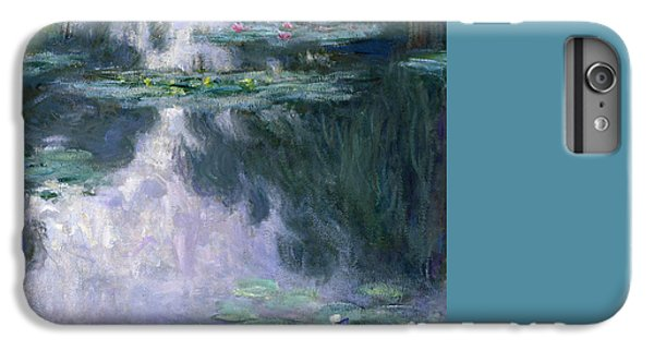 Impressionism iPhone 6 Plus Case - Waterlilies by Claude Monet