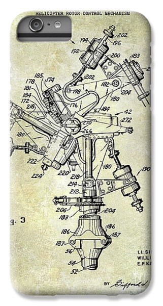 1950 Helicopter Patent IPhone 6 Plus Case