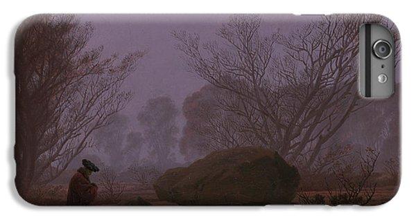 Barren iPhone 6 Plus Case - A Walk At Dusk by Caspar David Friedrich
