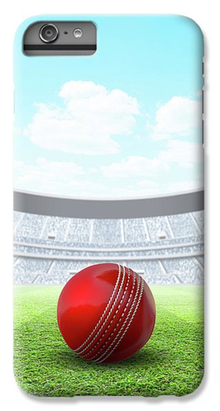 Cricket iPhone 6 Plus Case - Floodlit Stadium Day by Allan Swart