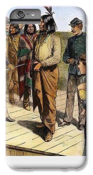 Landmarks iPhone 6 Plus Case - Geronimo 1829-1909.  To License For Professional Use Visit Granger.com by Granger