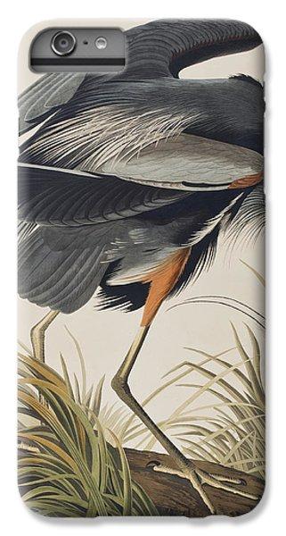 Great Blue Heron IPhone 6 Plus Case by John James Audubon