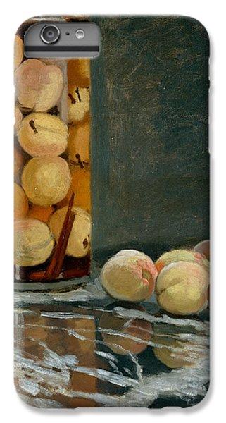 Jar Of Peaches IPhone 6 Plus Case by Claude Monet