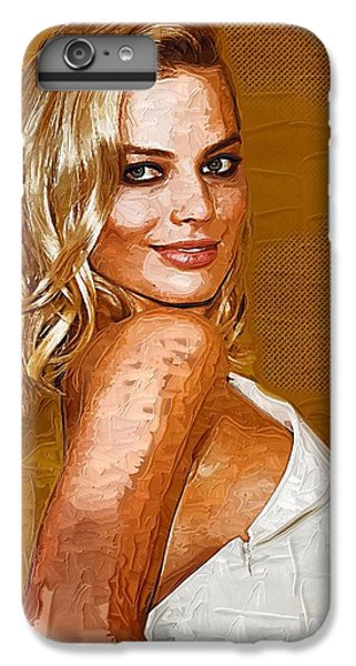 Margot Robbie Art IPhone 6 Plus Case by Best Actors
