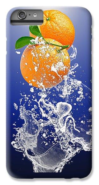 Orange Splash IPhone 6 Plus Case