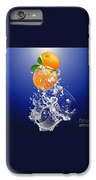 IPhone 6 Plus Case featuring the mixed media Orange Splash by Marvin Blaine