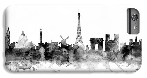 Paris France Skyline IPhone 6 Plus Case by Michael Tompsett