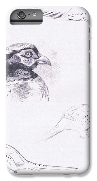Pheasants IPhone 6 Plus Case by Archibald Thorburn