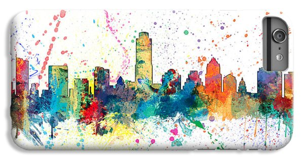 Austin iPhone 6 Plus Case - Austin Texas Skyline by Michael Tompsett