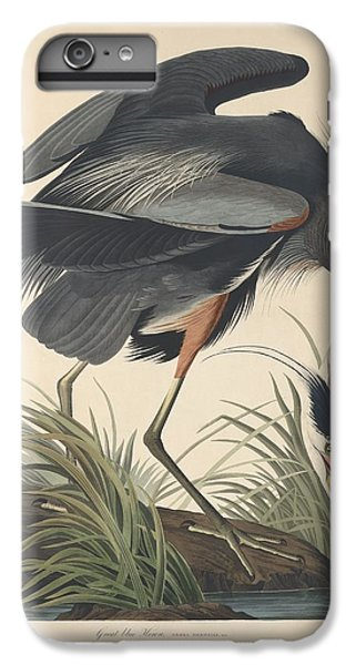 Ibis iPhone 6 Plus Case - Great Blue Heron by Dreyer Wildlife Print Collections